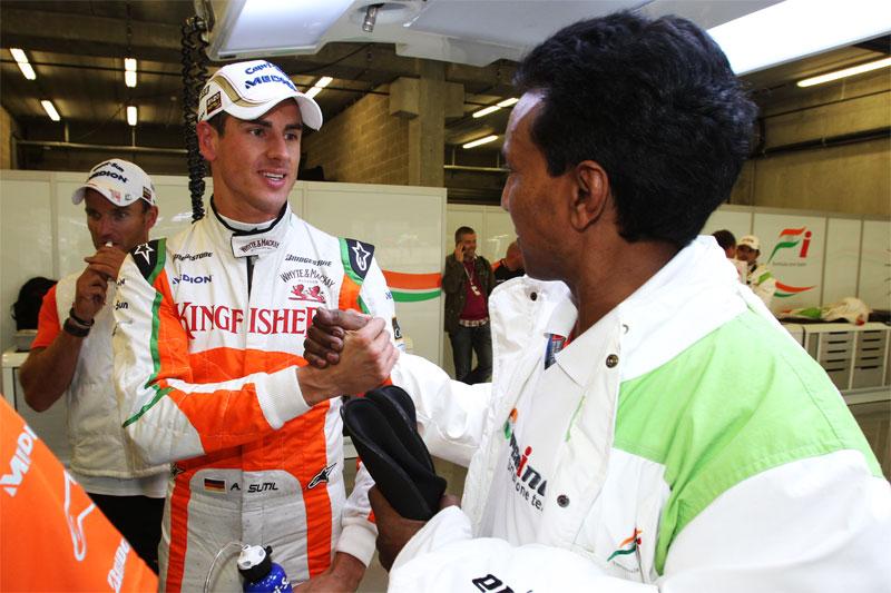 Balbir Singh, Physiotherapeut in der Formel 1